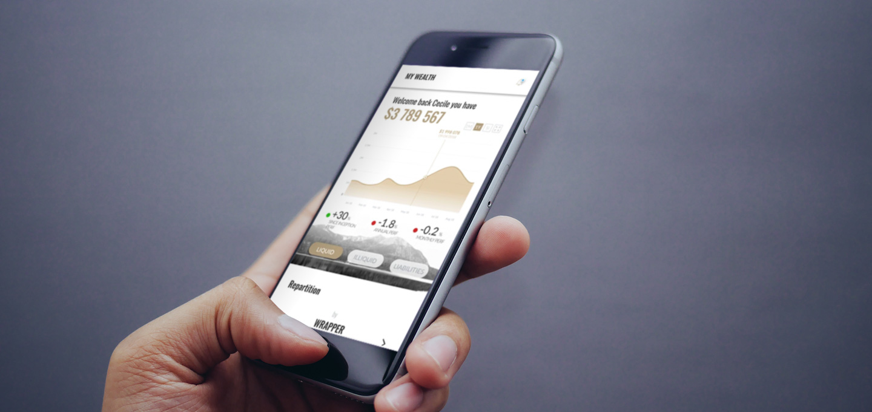 Application mobile en react native Airwealth