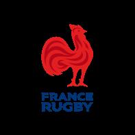 Logo Fédération Française de Rugby en couleur