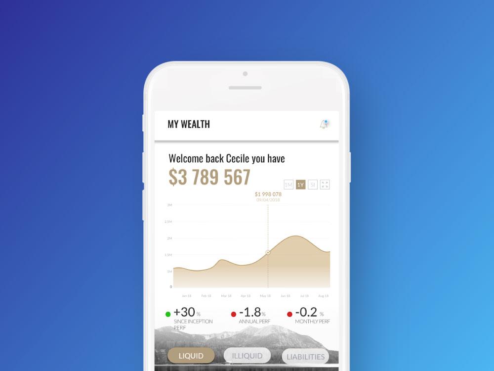 Application mobile Clezer statistiques