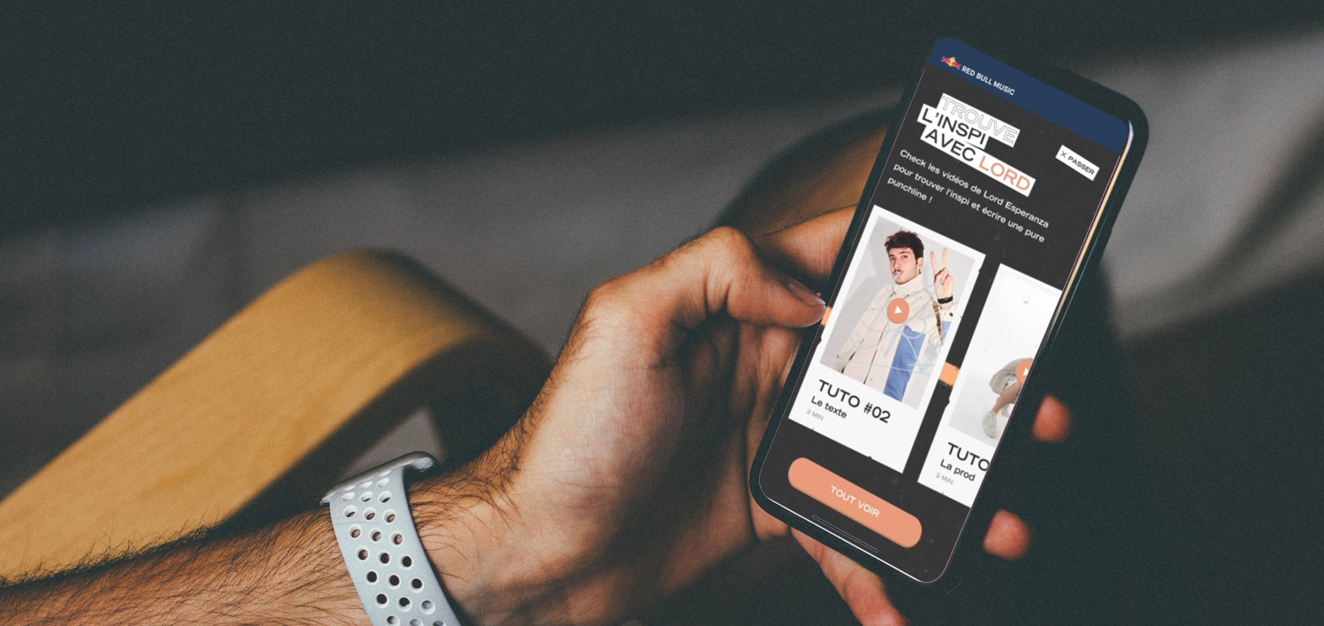 Application mobile react native En feat avec Lord Esperanza